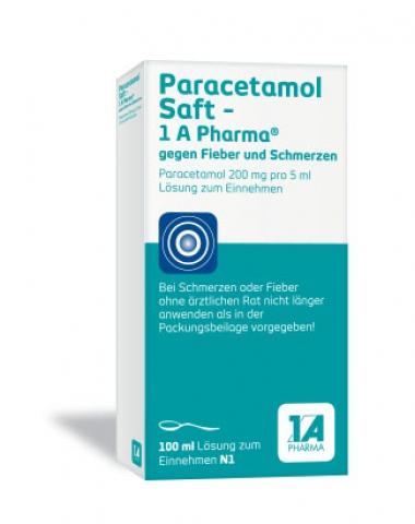 Paracetamol Saft -