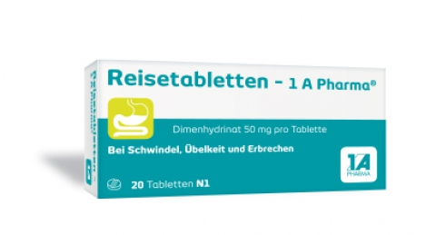 Reisetabletten -