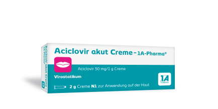 Aciclovir akut  Creme -