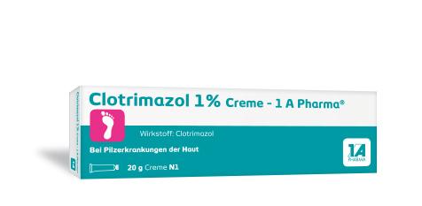 Clotrimazol 1 % Creme -