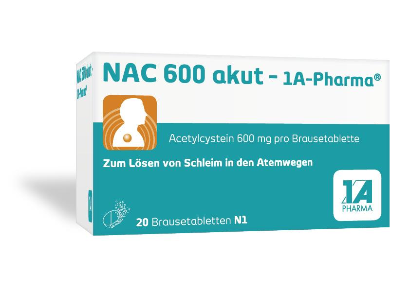 NAC 600 akut -